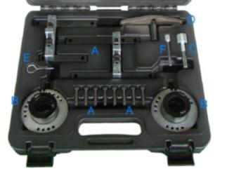 setting locking tool kit 1 0 ecoboost 3 cylinder petrol engine ford 780 8359. Black Bedroom Furniture Sets. Home Design Ideas
