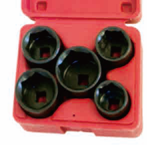 5PCS OIL FILTER CAP WRENCH SET 849-2023