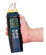 FOUR CHANNELS DATALOGGER THERMOMETER (K/J/E/T TYPE, PC INTERFACE)