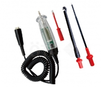6-24V DIGITAL CIRCUIT TESTER WITH PIERCE PROBE, LONG PROBE AND SMALL PROBE