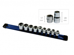 "10PC LOW-PROFILE 3/8"" SOCKET SET"
