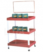PRODUCT DISPLAY SHELVES