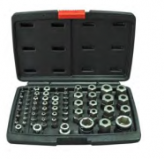 "57PCS 1/4"" & 3/8"" & 1/2"" TOOLS SET"