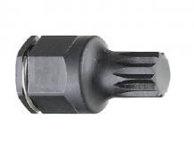 "3/8"" Drive, Spline(XZN) Stubby Impact Bit Socket"