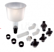 12-PC. COLLANT REFILLING FUNNEL SET WITH EXTENSION PIPES