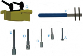 ENGINE TIMING TOOL SET - RENAULT , VAUXHALL & VOLVO