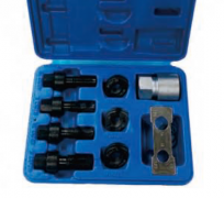 WHEEL STUD MASTER RE-THREADER KIT FOR USE ON VEHICLES THAT USE WHEEL BOLTS