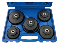 5 PC. 3/8 IN. FILTER CUP WRENCH SET