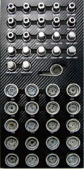 94 Pcs Master Wheel Bolt Lock Kit 002 0094m